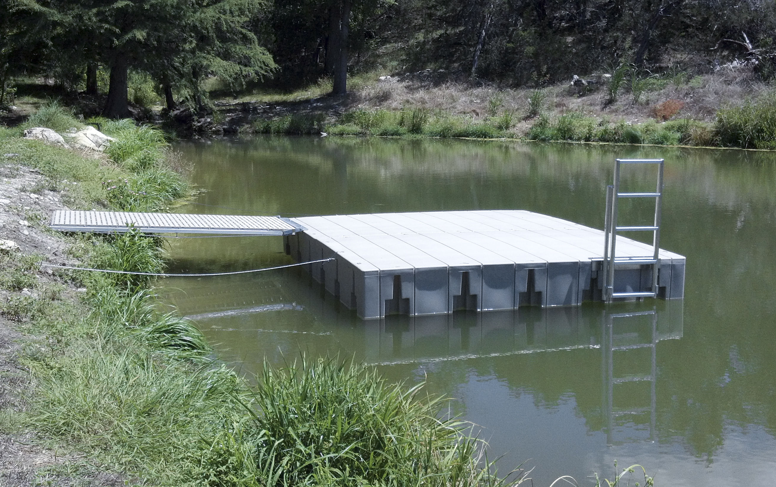 Covered boat dock designs bing images for Small pond dock plans