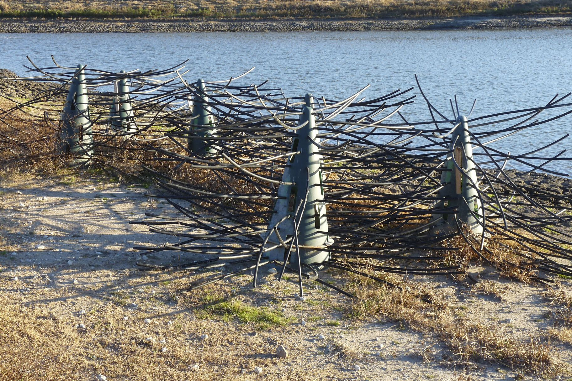 Fish structure natural or artificial fish habitat crappie for Artificial fish habitat